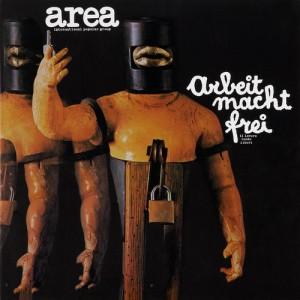 copertina del primo disco degli AREA